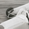 Micro-midget racing on Petree Road, 1956.