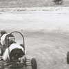 Micro-midget racing on Petree Road, 1956.