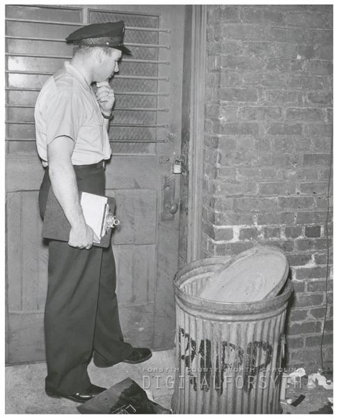 Fireman Ernest W. Parks, 1956.