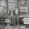 The E. G. Davis Store in Pfafftown, 1956.