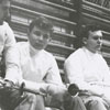 Fencing at the YMCA, 1956.