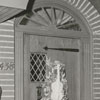 Peter J. Chris house with Christmas decorations at 438 Roslyn Road, 1956.