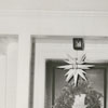 Archie K. Davis house with Christmas decorations at 2828 Forest Drive, 1956.