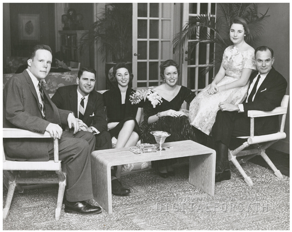 Dance at Reynolda House, 1956.
