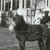 Richard J. Reynolds children with a pony cart.