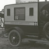 Vogler's ambulance at Boy Scouts field hospital.
