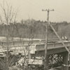 Yadkin River bridge construction, 1941.