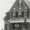 Principal's home at the Clemmons School, 1908.