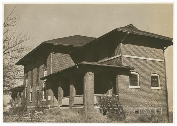 Boys Reformatory on Liberty Street Extension, 1937.