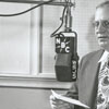Harvey Dinkins broadcasting on WSJS radio.