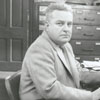 Frank Spencer, Winston-Salem Journal sports reporter, 1955.