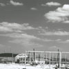 Construction at the Smith Reynolds Airport, 1955.