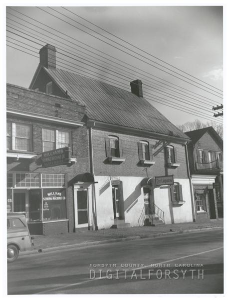 Winkler Bakery on South Main Street.