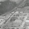 Aerial view of the campus of Winston-Salem State Teacher's College, 1941.