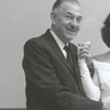 Dr. and Mrs. Owen Herring, with daughter Ann (center), 1960.