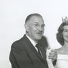 Dr. and Mrs. Ralph Herring (left and right), with their daughter Ann and their son, 1960.
