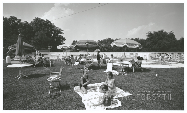 Digital Forsyth   Pine Brook Country Club swimming pools, 1964
