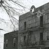 Exterior view of the Dalton-Hege Radio Supply Company store, 1949.