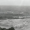 Aerial of Wake Forest College campus, 1959.