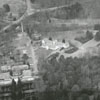 Aerial view of Reynolda Estate and Reynolda Road, 1959.