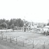 Reynolds Park playground with rides, 1962.