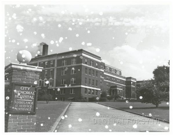 City Memorial Hospital, 1944.