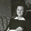 """Daisy Hendley Gold, author of """"It Was Forever,"""" 1940."""