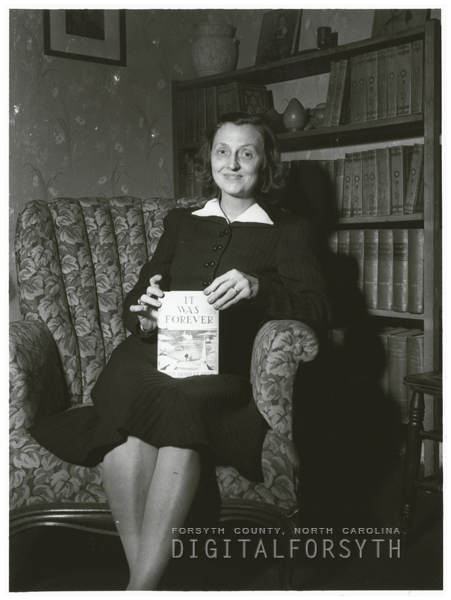 Daisy Hendley Gold, author of 'It Was Forever,' 1940.