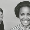 Cindy Siebert (pianist) and Elizabeth Peeler (foreground), 1968.