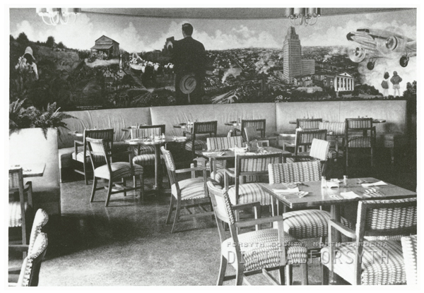 Dining room at Smith Reynolds Airport, 1944.