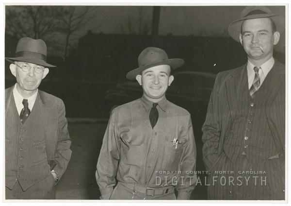 Frank Jones Sr.,  Walt Godfrey, and DuPont Smith.