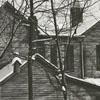 Snow around the Brookstown Avenue area, 1941.