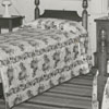 A bedroom in the Alumni House at Salem College, 1939.