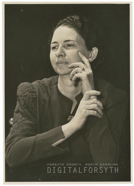 Mamie Hegewood, 1938.
