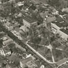 Aerial view of Salem, Salem College, and Salem Academy, 1938.