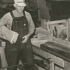 Interior photo of Fogle Brothers Lumber Company, 1938.