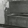 Interior of Harris Vault Company, 1938.