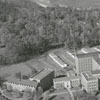 Aerial of Baptist Hospital and Bowman Gray Medical School, 1946.