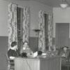 Waiting area at Baptist Hospital, 1942.