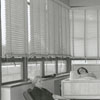 Possibly a sun porch at Baptist Hospital, 1942.