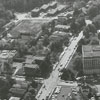Aerial photo of Hawthorne Road, from First Street to the south.