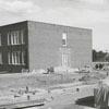 Construction of an addition at Woodland Avenue School.