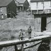 Slums in Winston-Salem, 1950.