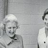 Presentation of Liberty Tree Book to North Carolina Room at Forsyth County Public Library, 1977.
