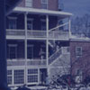 Salem College in the snow, 1962.