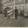 All-America City flag-raising ceremony in front of City Hall, 1960.