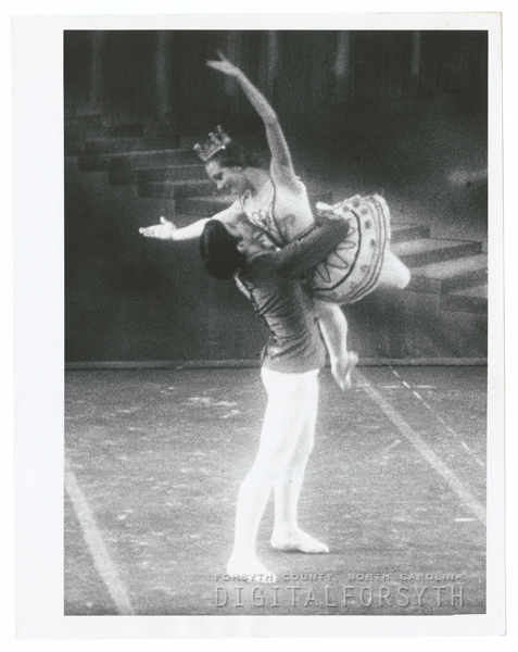 Performance of the Nutcracker Ballet, 1967.