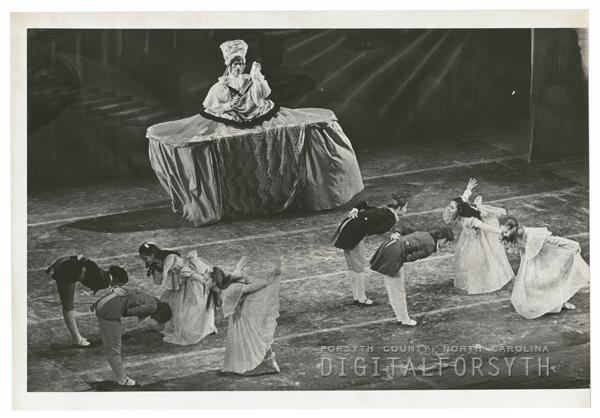 Performance of the Nutcracker Ballet, 1967.