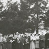 Easter Sunrise Service at Bethania Moravian Church, 1951.