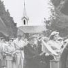 Easter Sunrise Service at Kernersville Moravian Church, 1952.